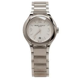 Baume&Mercier Silver Stainless Steel Ilea M0A08767 Women's Wristwatch 30MM 44389