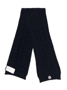 Moncler Kids - трикотажный шарф 966565S6090095939000