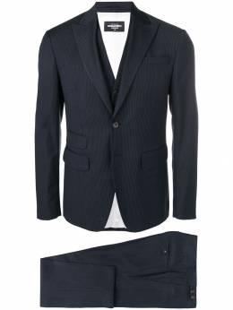 Dsquared2 - костюм-тройка в полоску FS6696S5895693665965