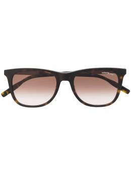 Montblanc солнцезащитные очки в квадратной оправе MB0017S