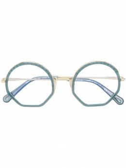 Chloe Eyewear очки в круглой оправе CE2143