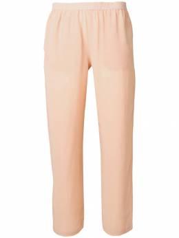 Semicouture - укороченные брюки с эластичным поясом U9393395063000000000