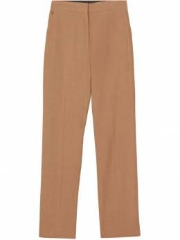 Burberry - классические брюки прямого кроя 65369338559900000000