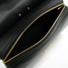 Louis Vuitton Noir Smooth Calf Leather Satchel Bag 136219