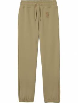 Burberry - спортивные брюки с монограммой 95999396993000000000