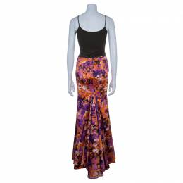 Just Cavalli Floral Maxi Skirt S 51070