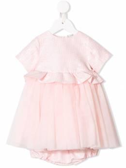 Fendi Kids - платье с оборками 066A3L09395993800000