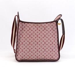 Louis Vuitton Red Monogram Mini Lin Mary Kate Bag 146574