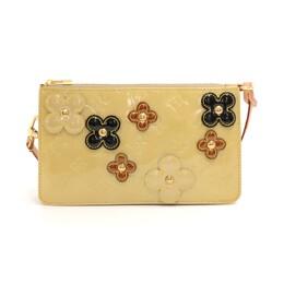 Louis Vuitton Beige Monogram Vernis Lexington Fleurs Pochette Accessoires 137323