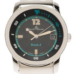 Baume&Mercier Black Stainless Steel Formula 1 Men's Wristwatch 33MM 115216