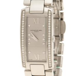 Raymond Weil Grey Shine Stainless Steel Women's Wristwatch 19MM 110419