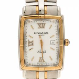 Raymond Weil White Parsifal Stainless Steel Women's Wristwatch 28MM 110414