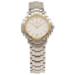 Baume&Mercier White Stainless Steel Diamond Riviera Women's Wristwatch 26MM 65917