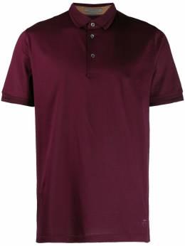 Corneliani рубашка-поло с короткими рукавами 83G5019125000