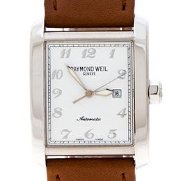 Raymond Weil White Stainless Steel Don Giovanni Unisex Wristwatch 30MM 60740