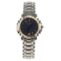 Baume&Mercier Grey Stainless Steel Shogun 5236.018.3 Womens Wristwatch 26 MM 164577