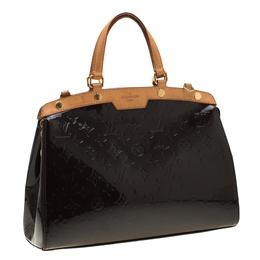 Louis Vuitton Amarante Monogram Vernis Brea MM Bag 201773