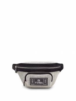 Fendi - поясная сумка с перфорацией и логотипом FF 556A3S89565589900000