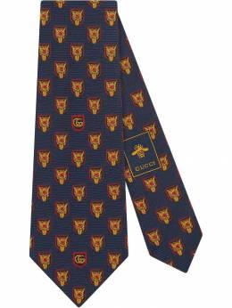 Gucci галстук с принтом 5718274E002