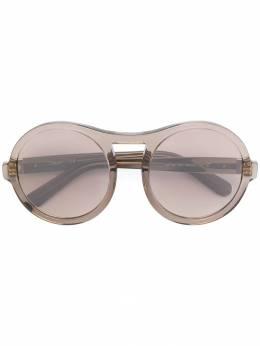 Chloe Eyewear круглые солнцезащитные очки CE715S