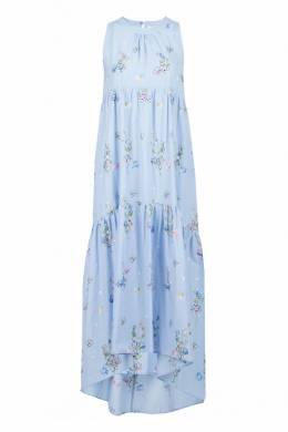 Голубое платье в цветок Blugirl 1916144389