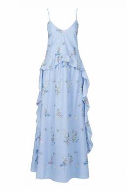 Голубой сарафан на бретелях Blugirl 1916144390