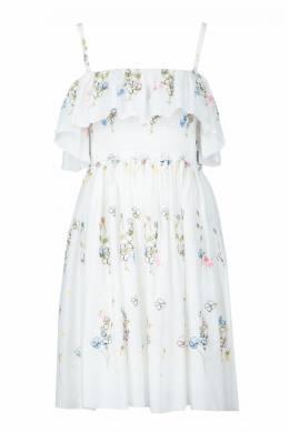 Белое платье на бретелях Blugirl 1916144392