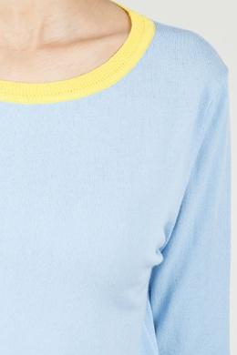 Желто-голубой джемпер Blugirl 1916144400