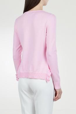 Розовый джемпер с оборками Blugirl 1916144448