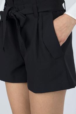 Черные шорты с карманами и завязками Blugirl 1916144406