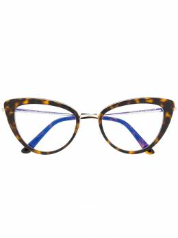 Tom Ford Eyewear очки в оправе 'кошачий глаз' TF5580B