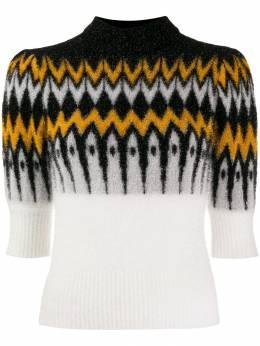 Laneus трикотажный свитер с контрастными вставками LANDMGD1259
