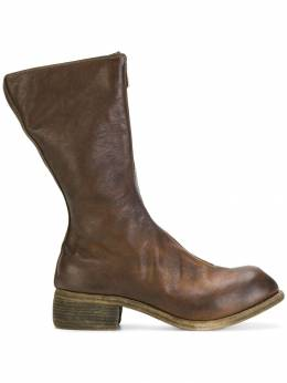Guidi - ботинки на молнии GOATFULLGRAIN9059536