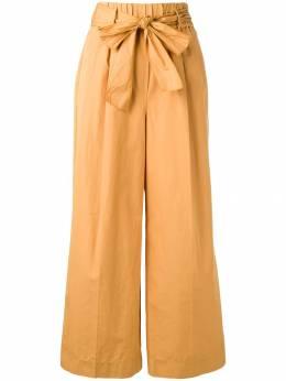 Forte Forte - расклешенные брюки с завязкой 9MYPANTS935598360000