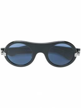 Calvin Klein 205W39nyc солнцезащитные очки в округлой оправе CKNYC1876SR