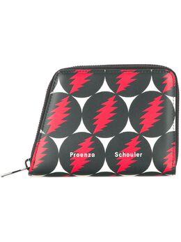 Proenza Schouler кошелек 'Grateful Dead' трапециевидной формы на молнии S00142C282F