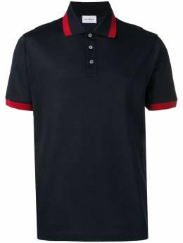 Salvatore Ferragamo - рубашка-поло с отделкой Gancini 99693599393000000000