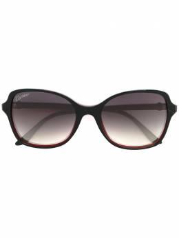 Cartier солнцезащитные очки 'Double C Decor' ESW00106