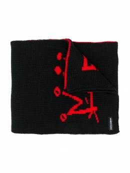 Dolce&Gabbana Kids - шарф с графичным принтом A93JAVIX950683690000