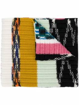 Missoni трикотажный шарф с узором MDS00198BK00AR
