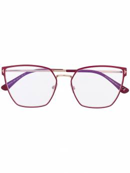 Tom Ford Eyewear очки в квадратной оправе TF5574B