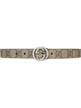 Gucci Kids Children's GG Supreme belt 258395KGD0N