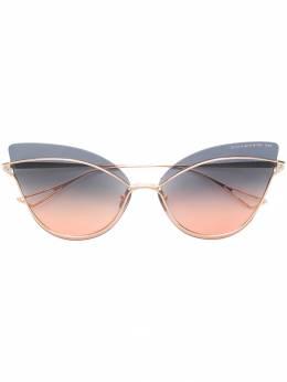"""Dita Eyewear солнцезащитные очки 'Nightbird One' в оправе """"кошачий глаз"""" DTS515"""