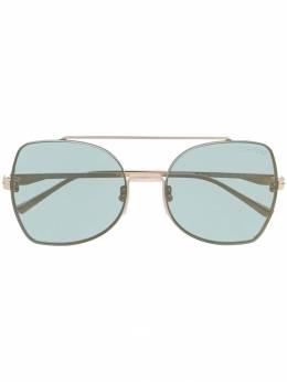 Tom Ford Eyewear солнцезащитные очки в квадратной оправе TF656