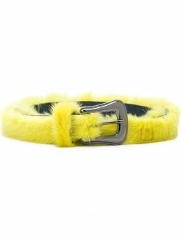 Missoni fur-trim buckle belt MDX00005BL0012