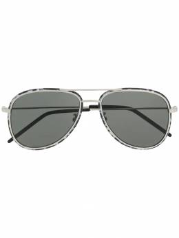 Saint Laurent Eyewear солнцезащитные очки-авиаторы 560066Y9902