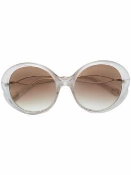 Chloe Eyewear круглые солнцезащитные очки CHLSCE73929057
