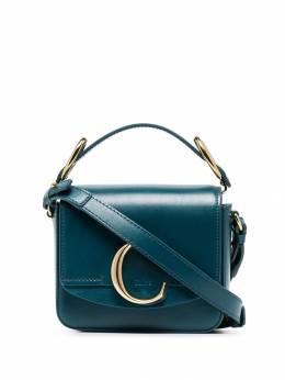 Chloé - сумка на плечо с металлическим логотипом 99US993A339566060800