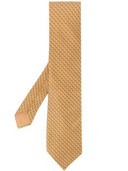 Hermès Pre-Owned галстук 2000-х годов с узором HERME180W