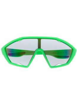 Prada Eyewear солнцезащитные очки в спортивном стиле 0PS10US4471M230